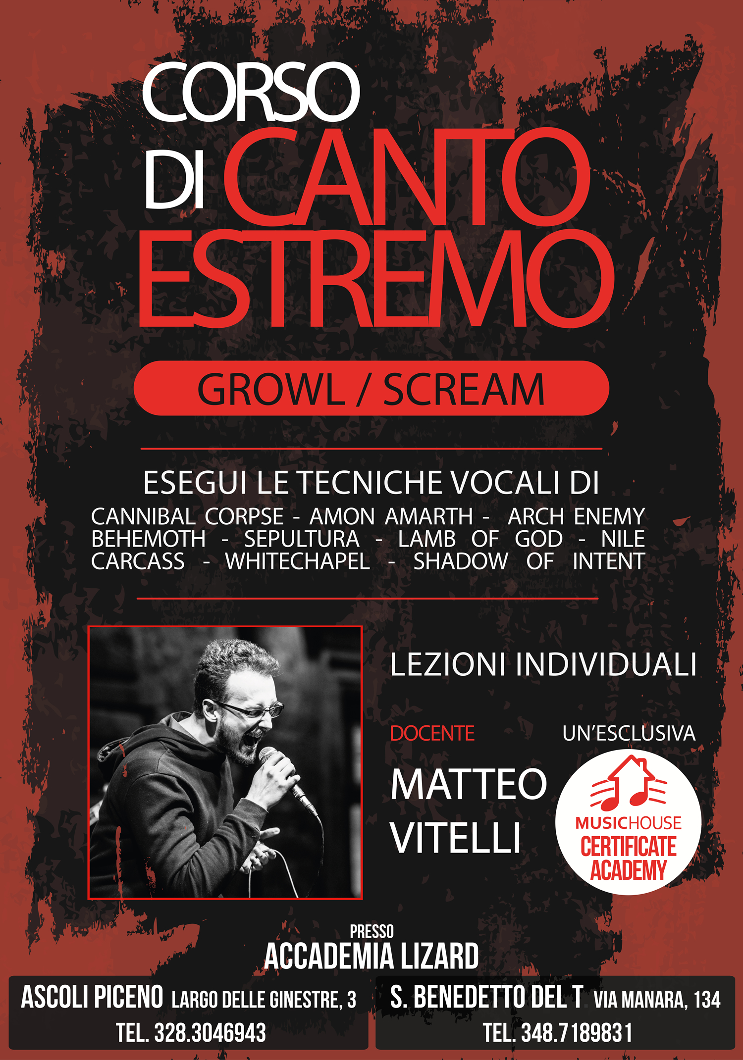 Corso di Canto Estremo - Growl Scream