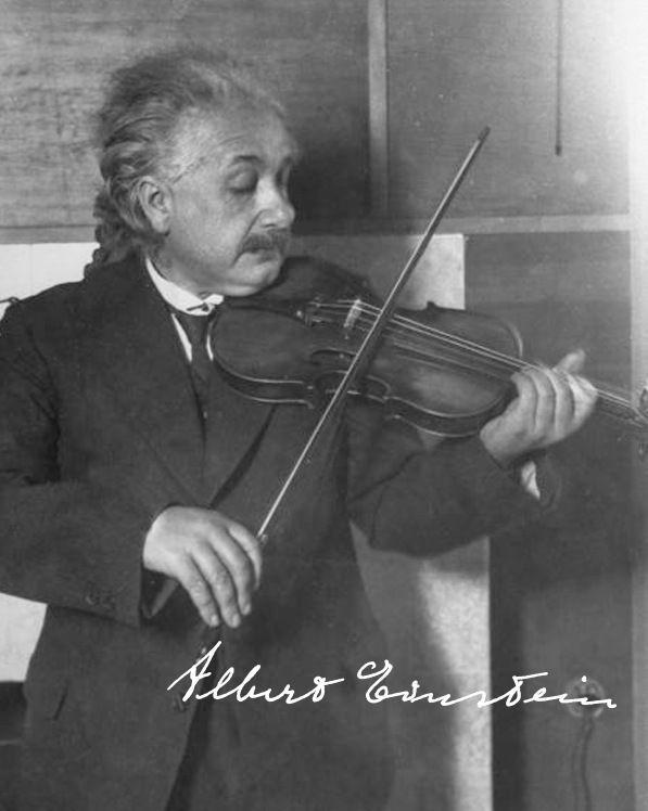 Einstein – violino