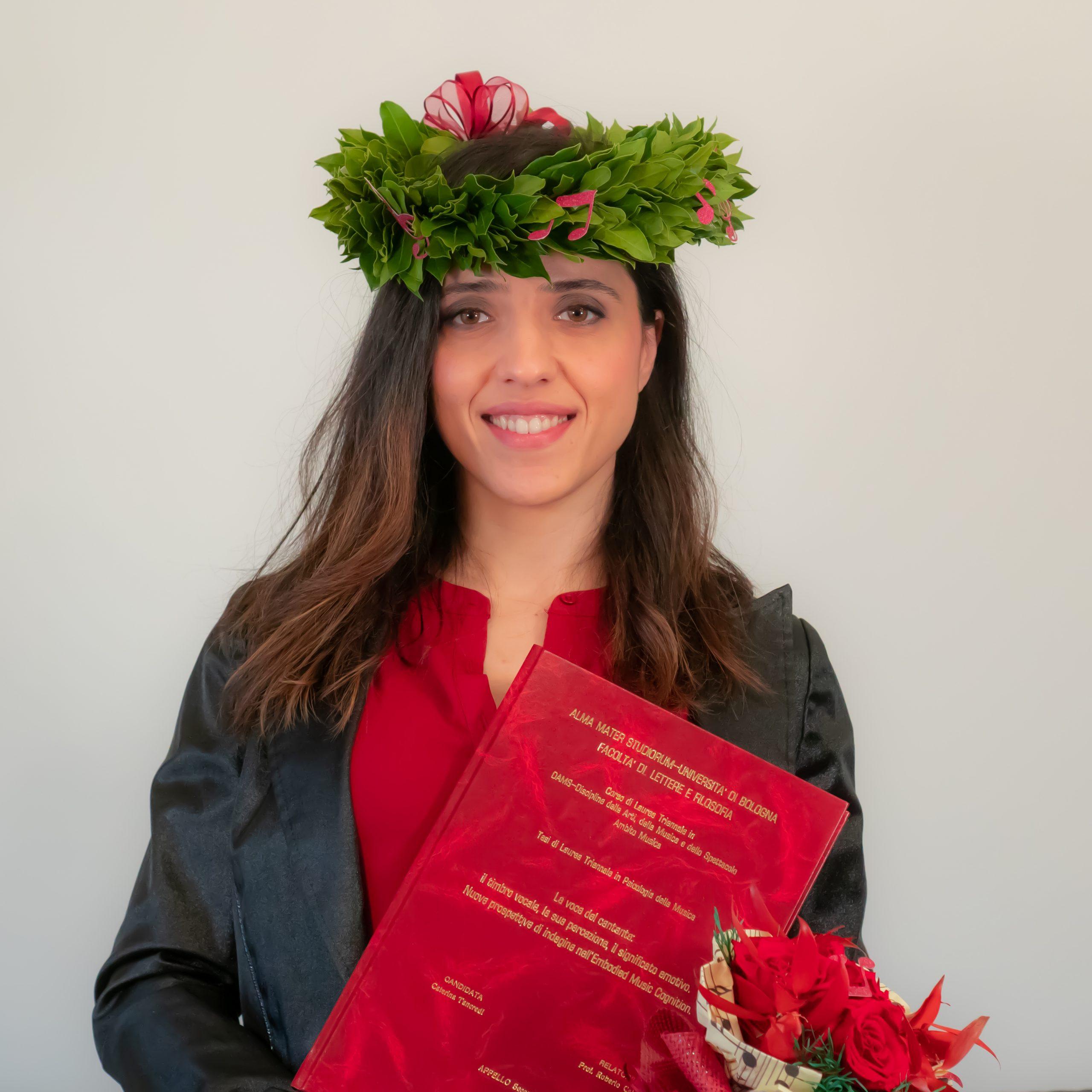Laurea in Discipline delle Arti, della Musica e dello Spettacolo per la nostra docente Caterina Tancredi