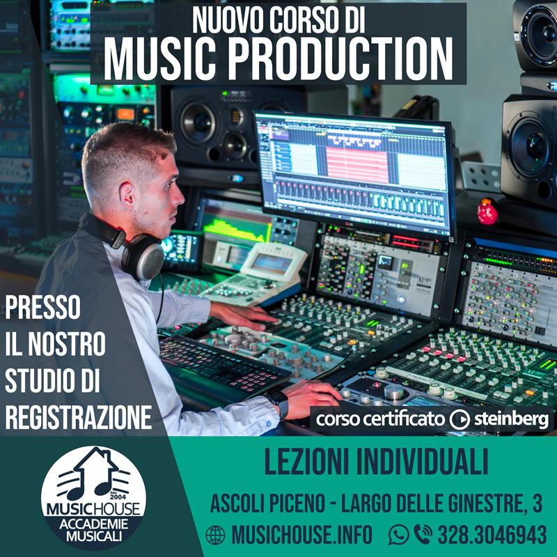 Corso Music Production 2021